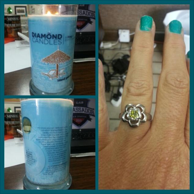 Diamond Candles = WOW